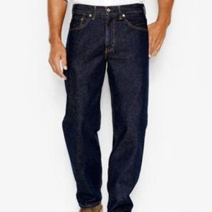 Levi's Mens 550 Relaxed Fit Jeans W34 L36 NWT